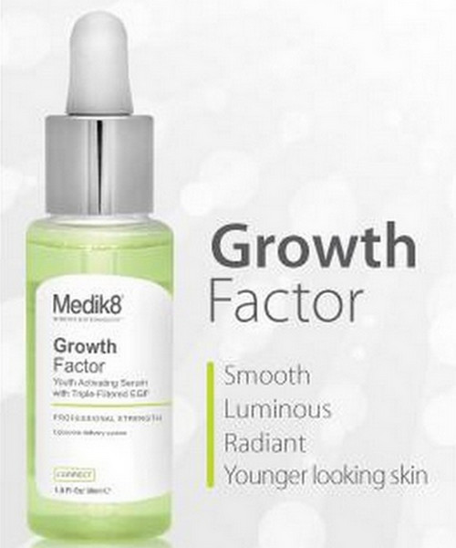 Growth factor serum, one of the popular growth factor supplements today.photo